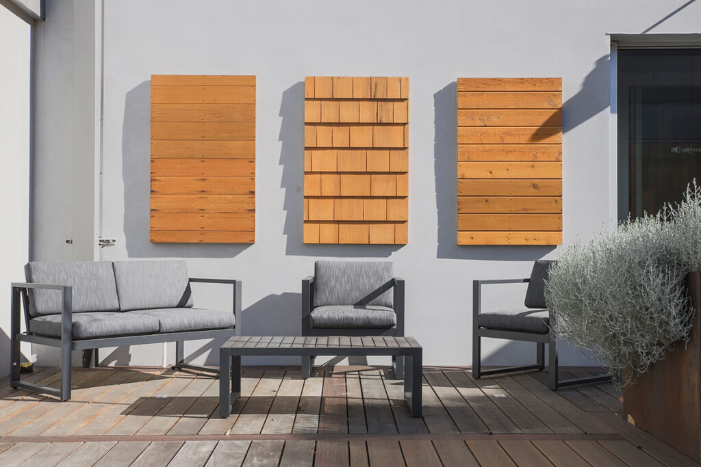 Siding display at GSL San Francisco