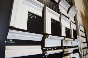 Windsor ONE interior moulding display at GSL San Rafael