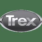 Trex logo in silver