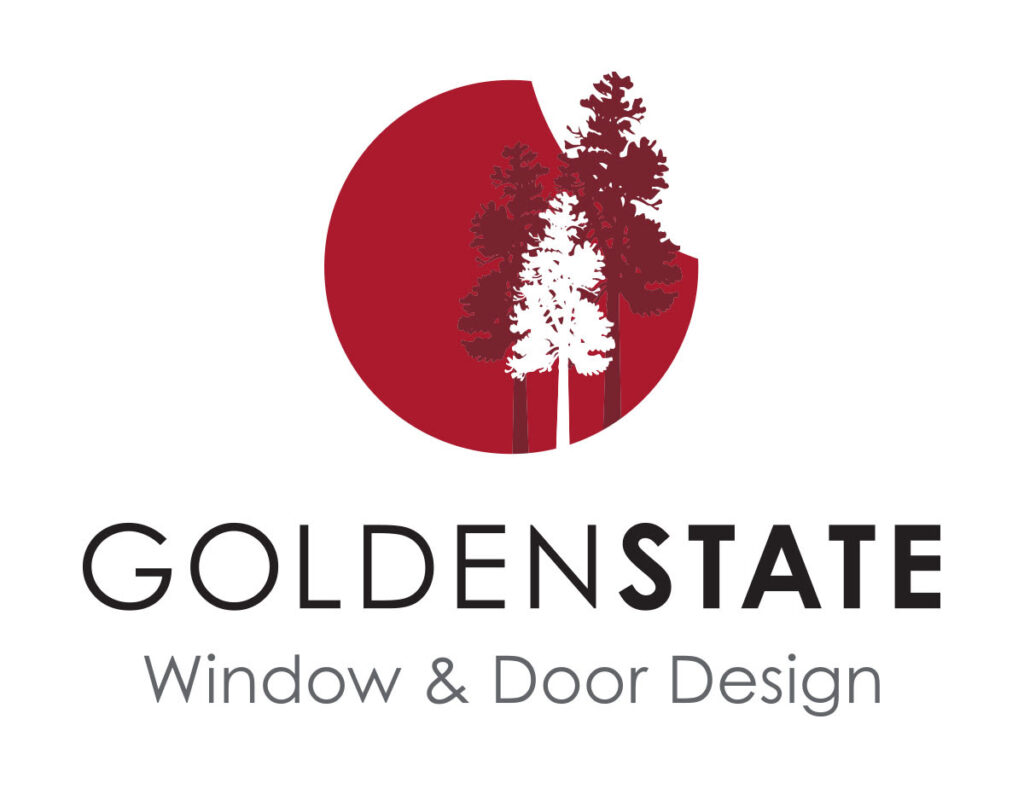 Golden State Window and Door Design new logo for 2020