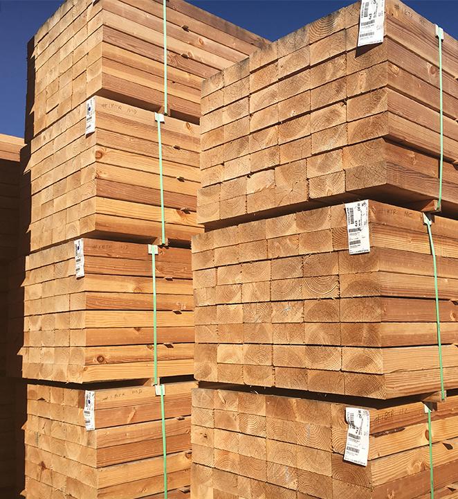 Allweather Wood Douglas fir lumber