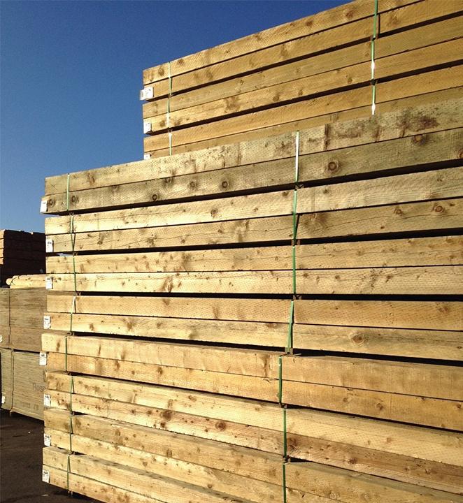 Allweather Wood Preservative Treated lumber