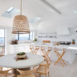 Minimal kitchen with Euroline windows and skylights