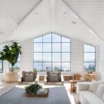 Minimalist living room window by Euroline
