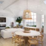 Modern living room with steel Euroline WIndows