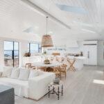 minimal beach house with Euroline steel windows
