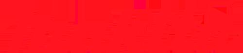 Makita logo in color red