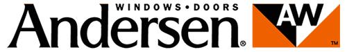 Andersen Windows logo with white background