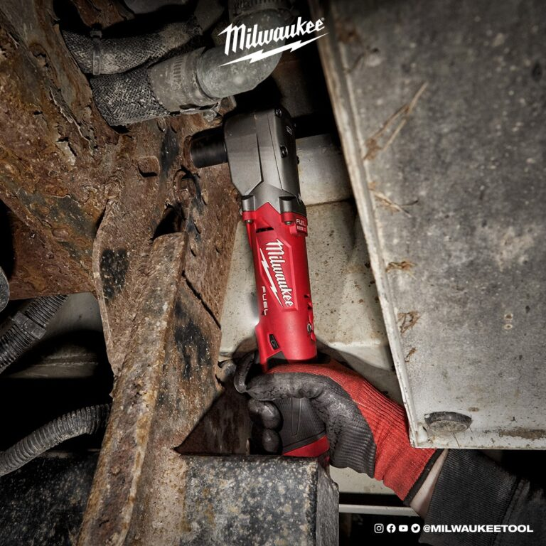 impact wrench hitting frame with milwaukee tools