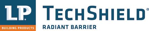 LP TechShield logo in white
