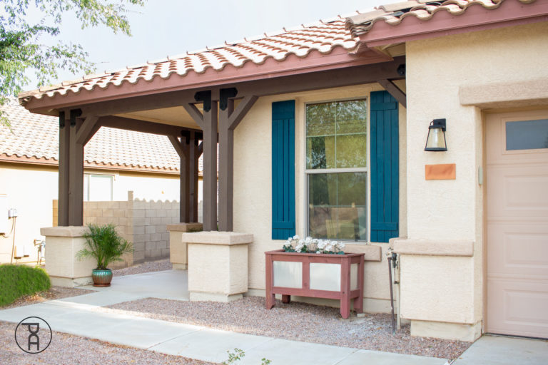 outdoor accents porch makeover front Simpson Strong-Tie