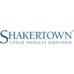 Shakertown logo in blue square crop