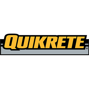 Quikrete color logo in square crop