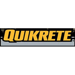 Quikrete color logo in square crop