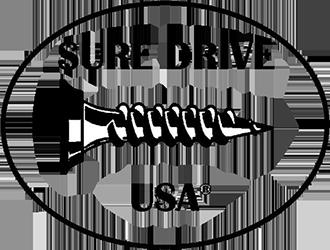 Sure Drive USA logo in black