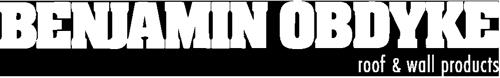 Benjamin Obdyke horizontal logo in white