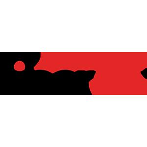 Fiberon logo small with black text