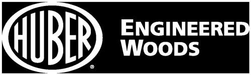 Huber Engineered Woods logo in white