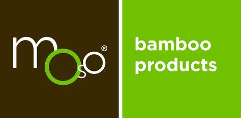 Moso Bamboo Products logo lockup color