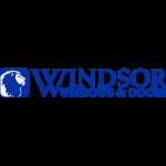 Windsor Windows & Doors small logo in blue