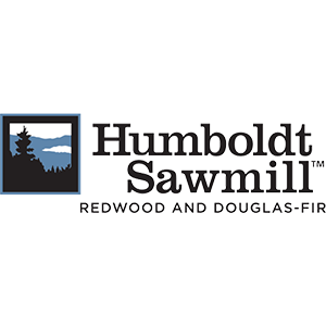 Square crop Humboldt Sawmill logo in black with tagline