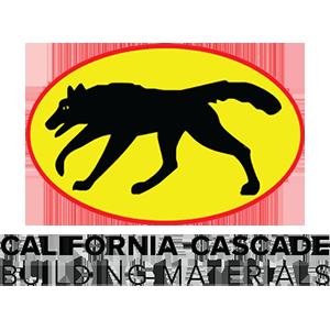 California Cascade stacked logo with black text