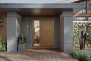 modern door with window panel from TruStile